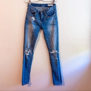 Blank NYC Skinny Classique Distressed Jeans